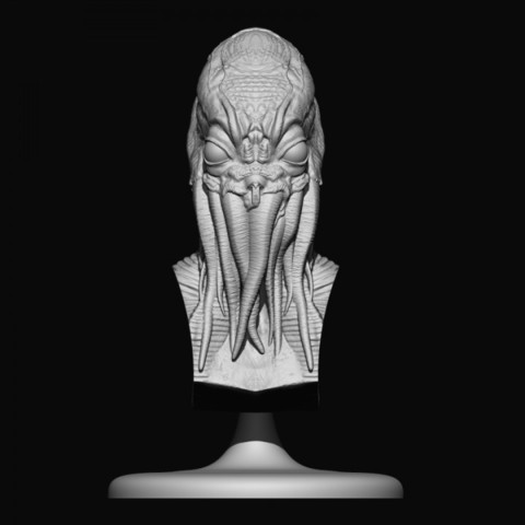 Download free 3D printer designs chtulhu, stevenve
