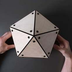 4.jpg Télécharger fichier STL gratuit Connecteurs triangulaires • Modèle à imprimer en 3D, MakerMind