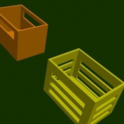 Download 3D printer files storage boxes, Zorana