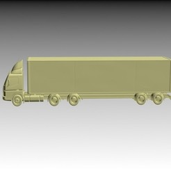 Download 3D printer templates Camion, pendant
