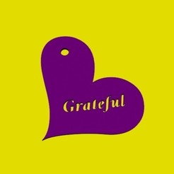 1.jpg Download OBJ file Pendant Grateful • 3D printing template, Zorana