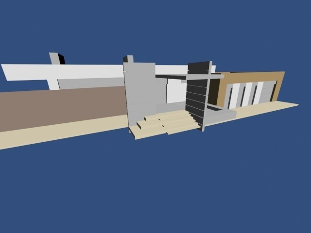 1.jpg Download OBJ file Modern house • 3D printable template, Zorana