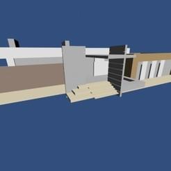 Fichier imprimante 3D Maison moderne, pendant