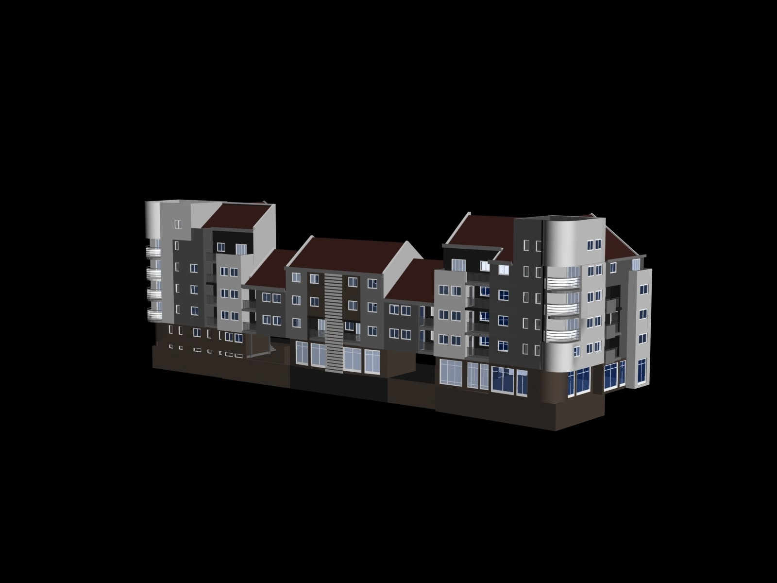 2.jpg Download free STL file Building complex • 3D printer design, Zorana