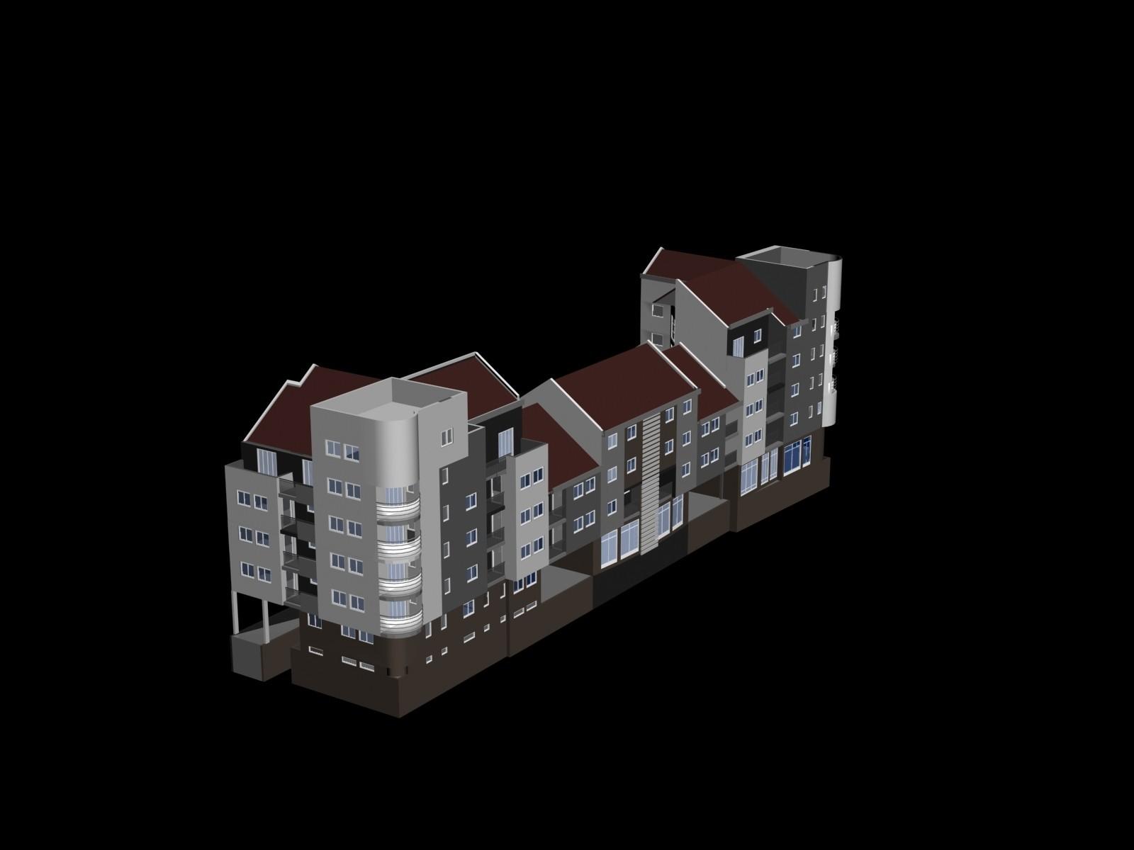 1.jpg Download free STL file Building complex • 3D printer design, Zorana