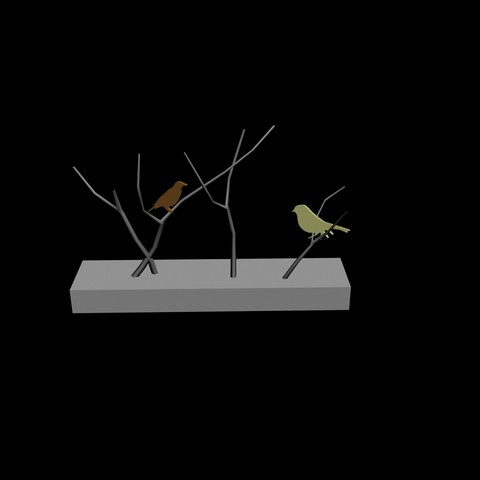 Descargar archivos STL Aves decorativas, pendant