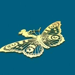 Diseños 3D Farfalla, pendant