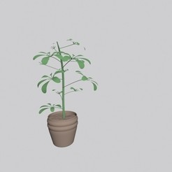 Download free 3D printer designs Plant, pendant