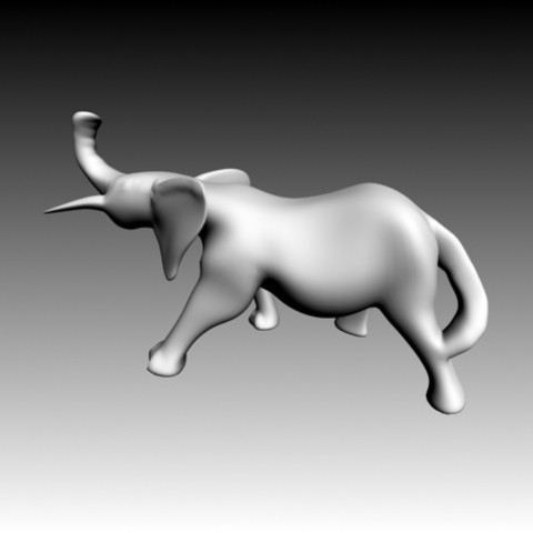 1.jpg Download free OBJ file Elephant • 3D printing object, Zorana