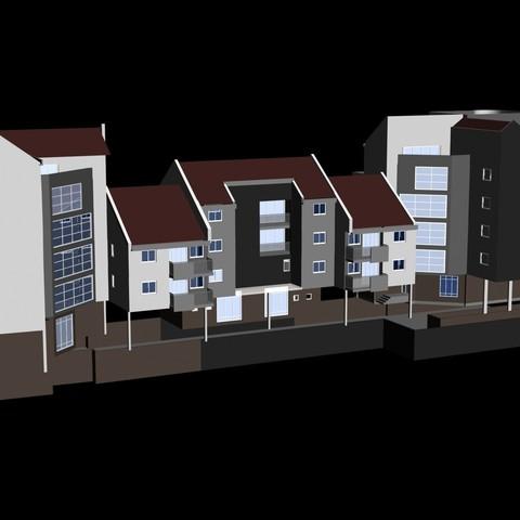 3.jpg Download free STL file Building complex • 3D printer design, Zorana