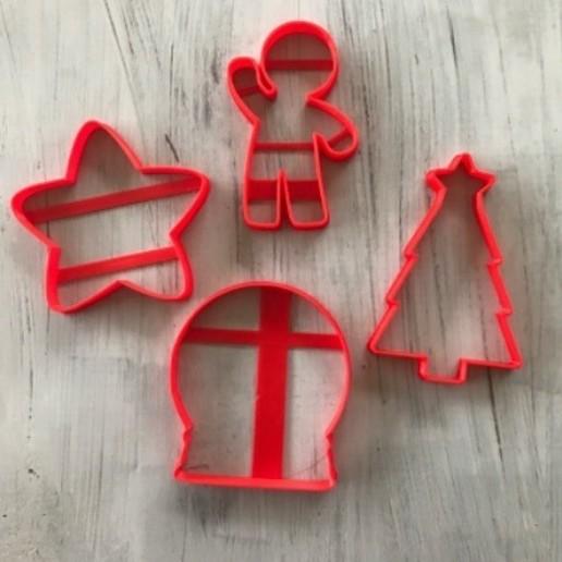 Download free 3D printer designs Christmas cookie cutter, memy_ironmaiden