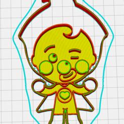 Fichier imprimante 3D Emporte-pièce clown plin plin à l'emporte-pièce, memy_ironmaiden