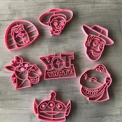 Download 3D printing models toy story cookie cutter, memy_ironmaiden