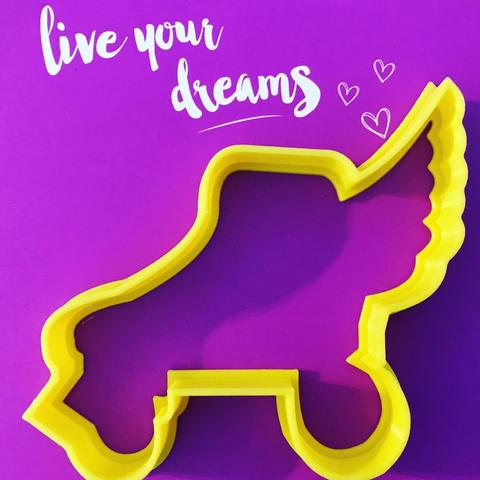 STL file soy luna cookie cutter / I'm moon, memy_ironmaiden