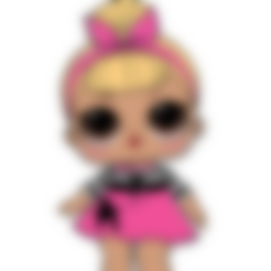 Descargar STL gratis Lol doll cookie cutter, memy_ironmaiden