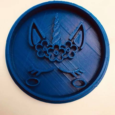 Download free 3D printing designs unicorn cookie cutter, memy_ironmaiden