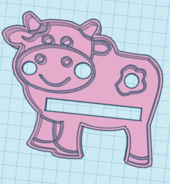 Captura de pantalla 2018-08-02 a la(s) 17.59.12.png Download free STL file cow cookie cutter • 3D print template, memy_ironmaiden