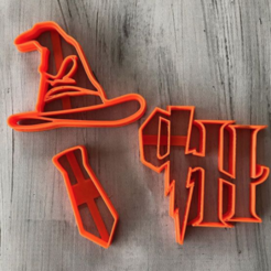 Descargar diseños 3D gratis Harry potter cookie cutter, memy_ironmaiden