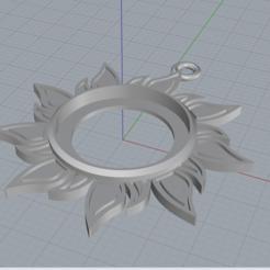 Objet 3D Pendentif soleil, doctorhouse57000