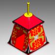 3D print model Roman Tent , Playmobil, JG943D