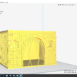 3d model Exclusive Playmobil house 150*100*150mm measures designed for Playmobil, JG943D