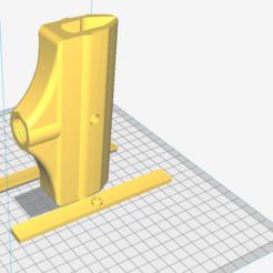 Descargar archivo 3D Mango espátula dentada / Toothed spatula handle, Imprimetelo3d