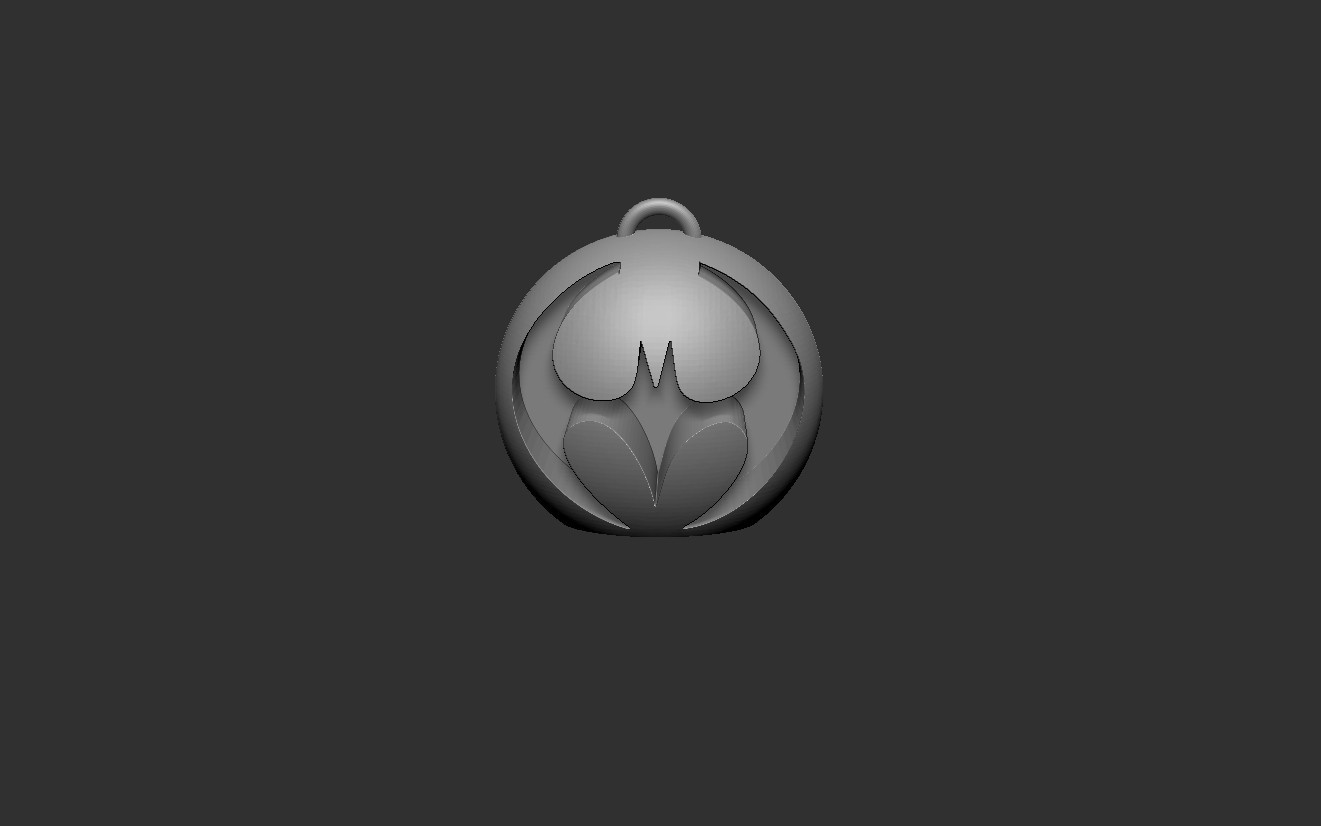 Batmanpendant.jpg Download free STL file Batmanpendant • 3D printer model, cchampjr