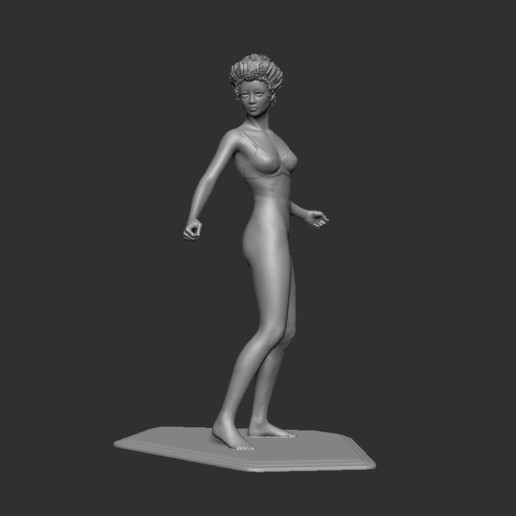 Download free 3D printing designs Female model, cchampjr