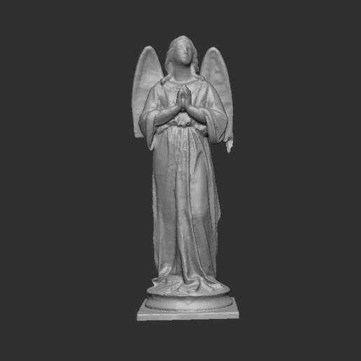 Télécharger fichier imprimante 3D gratuit statue d'ange scan, cchampjr