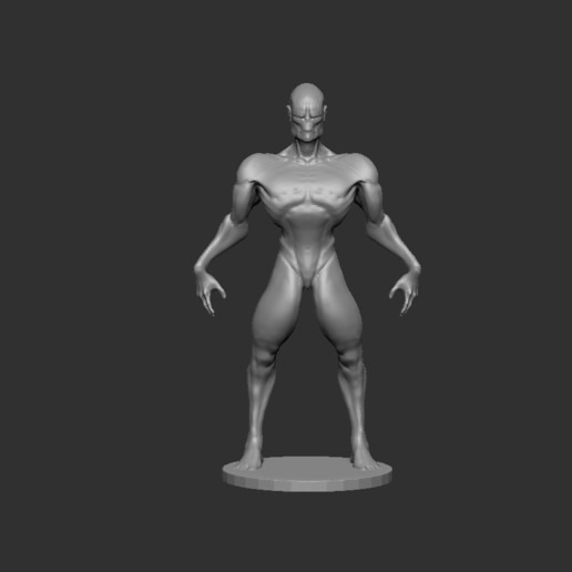 Download free 3D printer model The alien, cchampjr