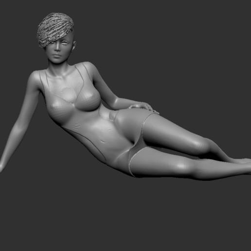 Download free STL files female model, cchampjr