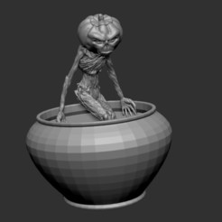 Download free 3D printing files pumpkinhead, cchampjr