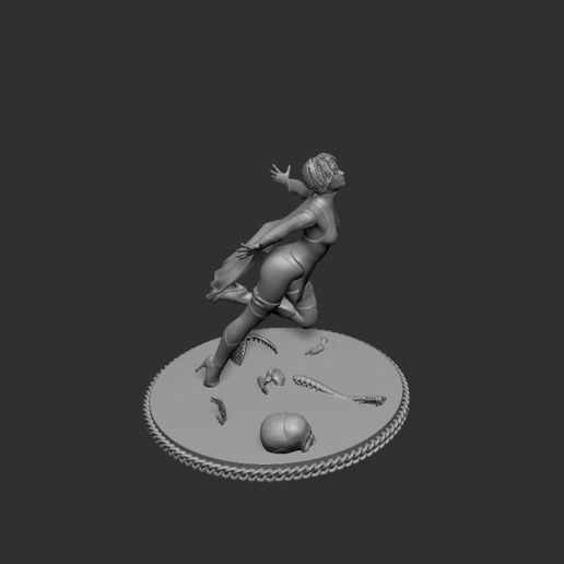 Download free 3D printing files Super girl fly away, cchampjr