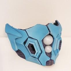 Télécharger plan imprimante 3D Fan Art du masque Bio Armor, aidanhershberger