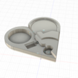 Modelos 3D Magic Heart (necklace from The Illusionist), TheGoodInventor