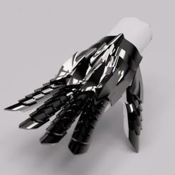 Descargar modelos 3D Guanteletes de Nazgul (El señor de los anillos) para cosplay, TheGoodInventor