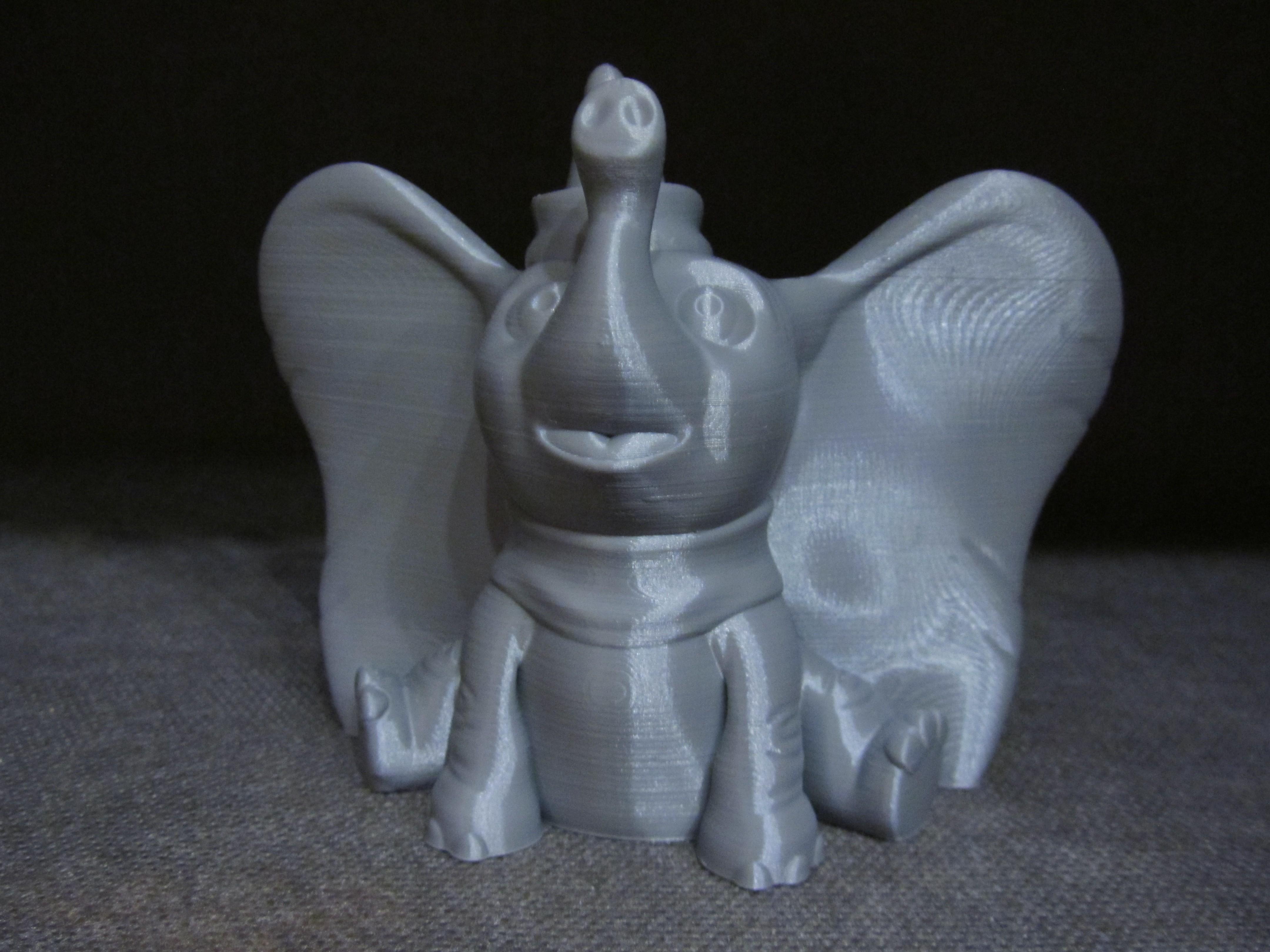 Dumbo 2.JPG Télécharger fichier STL gratuit Dumbo (Impression facile sans support) • Design à imprimer en 3D, Alsamen