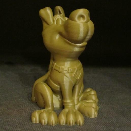 Download Free 3D Printer Designs Scooby (Easy Print No