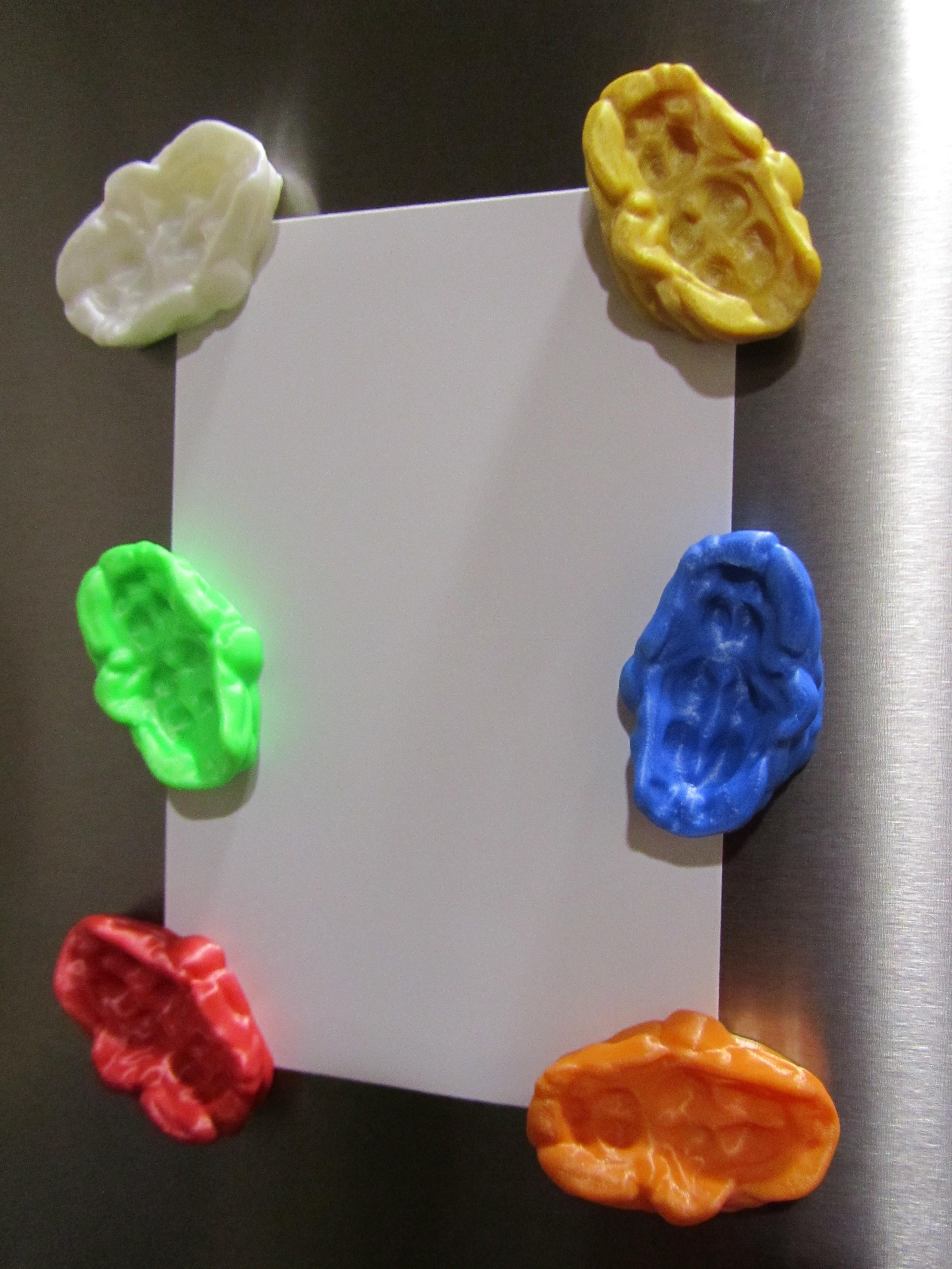 Bubble Gum 2.JPG Télécharger fichier STL gratuit Bubble Gum Magnet • Modèle pour imprimante 3D, Alsamen