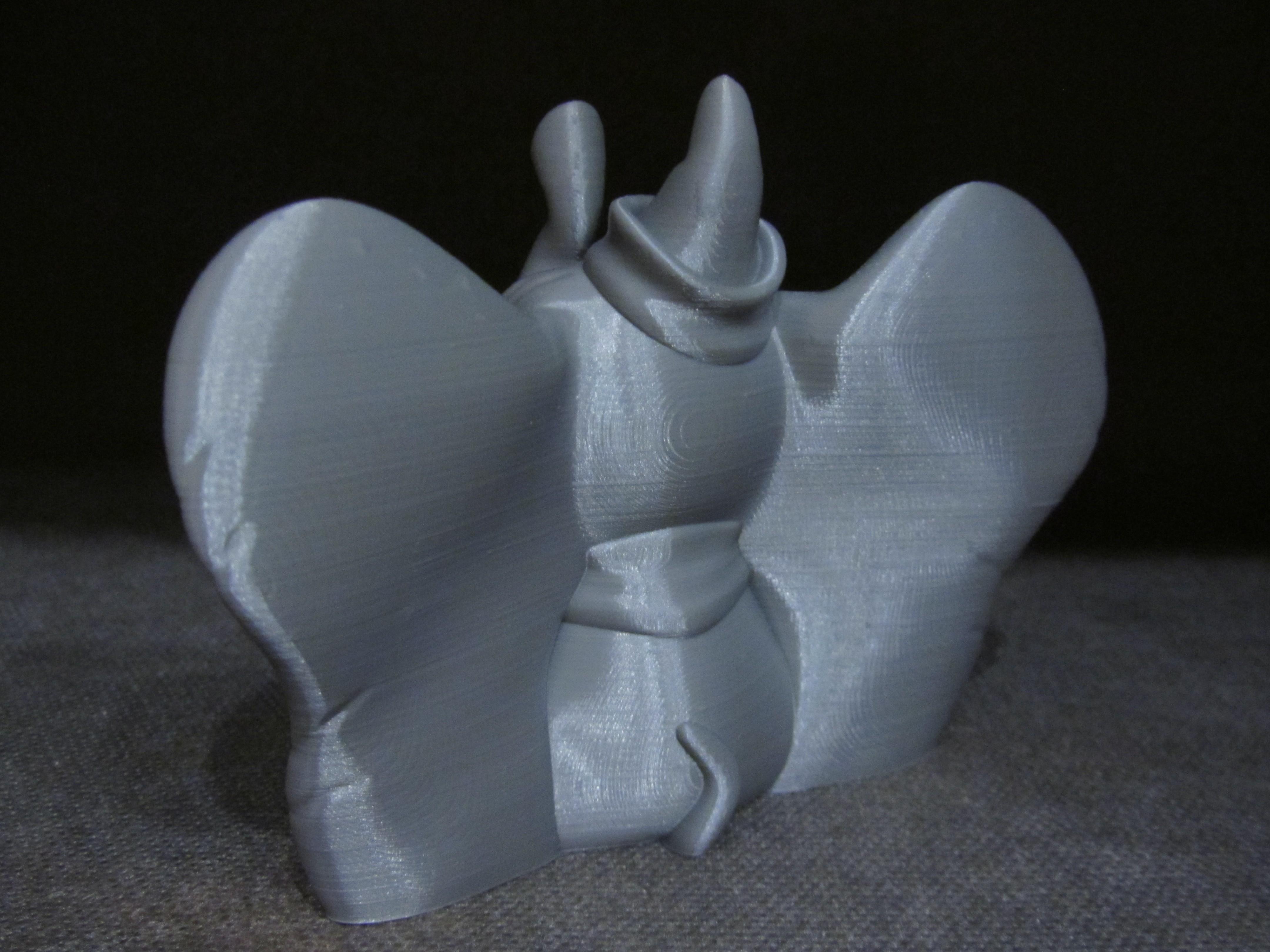 Dumbo 3.JPG Télécharger fichier STL gratuit Dumbo (Impression facile sans support) • Design à imprimer en 3D, Alsamen