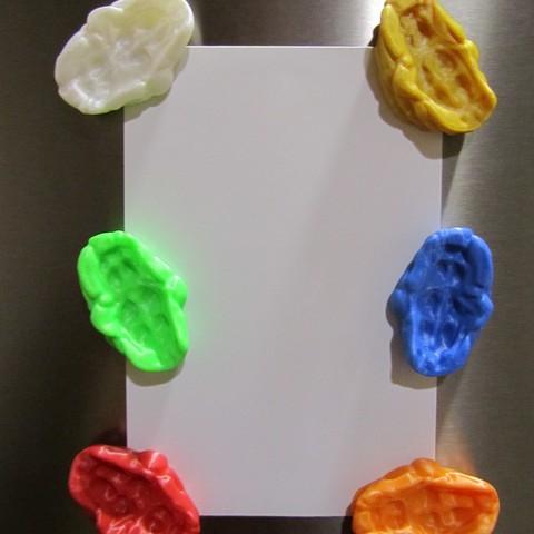 Bubble Gum 1.JPG Télécharger fichier STL gratuit Bubble Gum Magnet • Modèle pour imprimante 3D, Alsamen