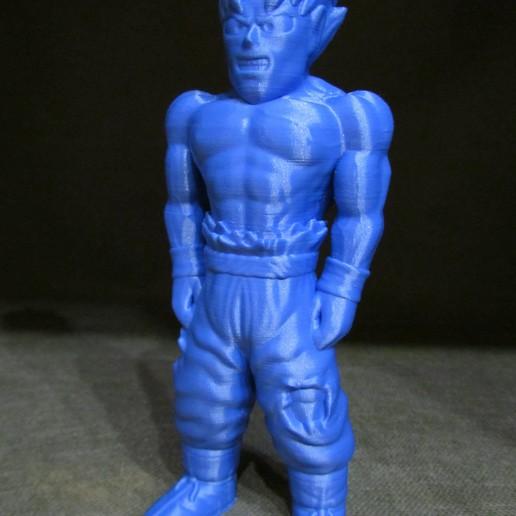 Goku-2.jpg Download free STL file Goku (Easy print no support) • 3D printing template, Alsamen