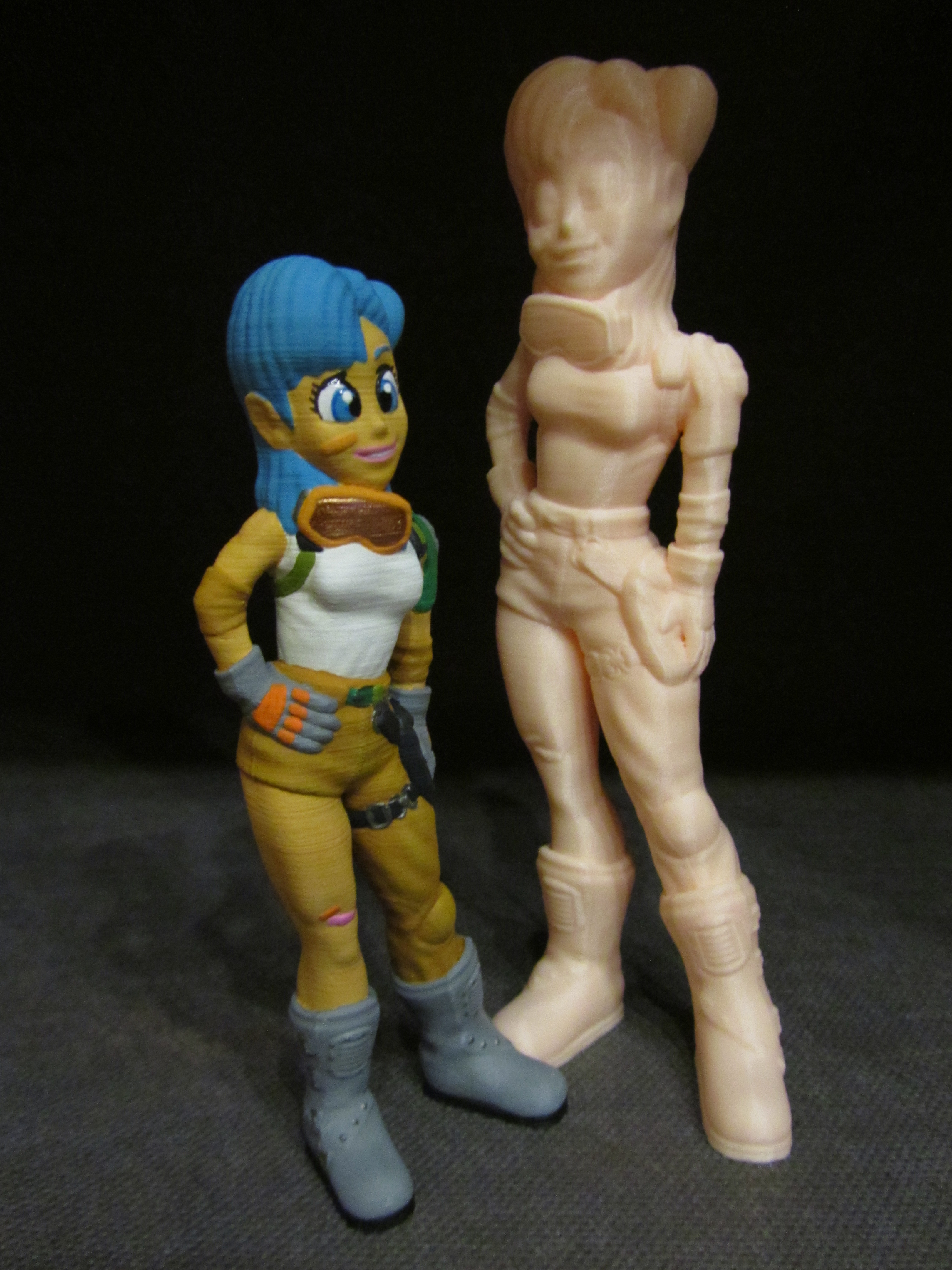 Bulma-Painted-3.jpg Download free STL file Bulma (Easy print no support) • 3D printable model, Alsamen