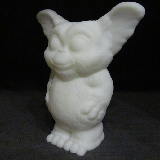 Gizmo 2.JPG Download free STL file Gizmo (Easy print no support) • Model to 3D print, Alsamen