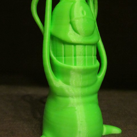 Plankton.JPG Download free STL file Plankton (Easy print no support) • 3D print design, Alsamen