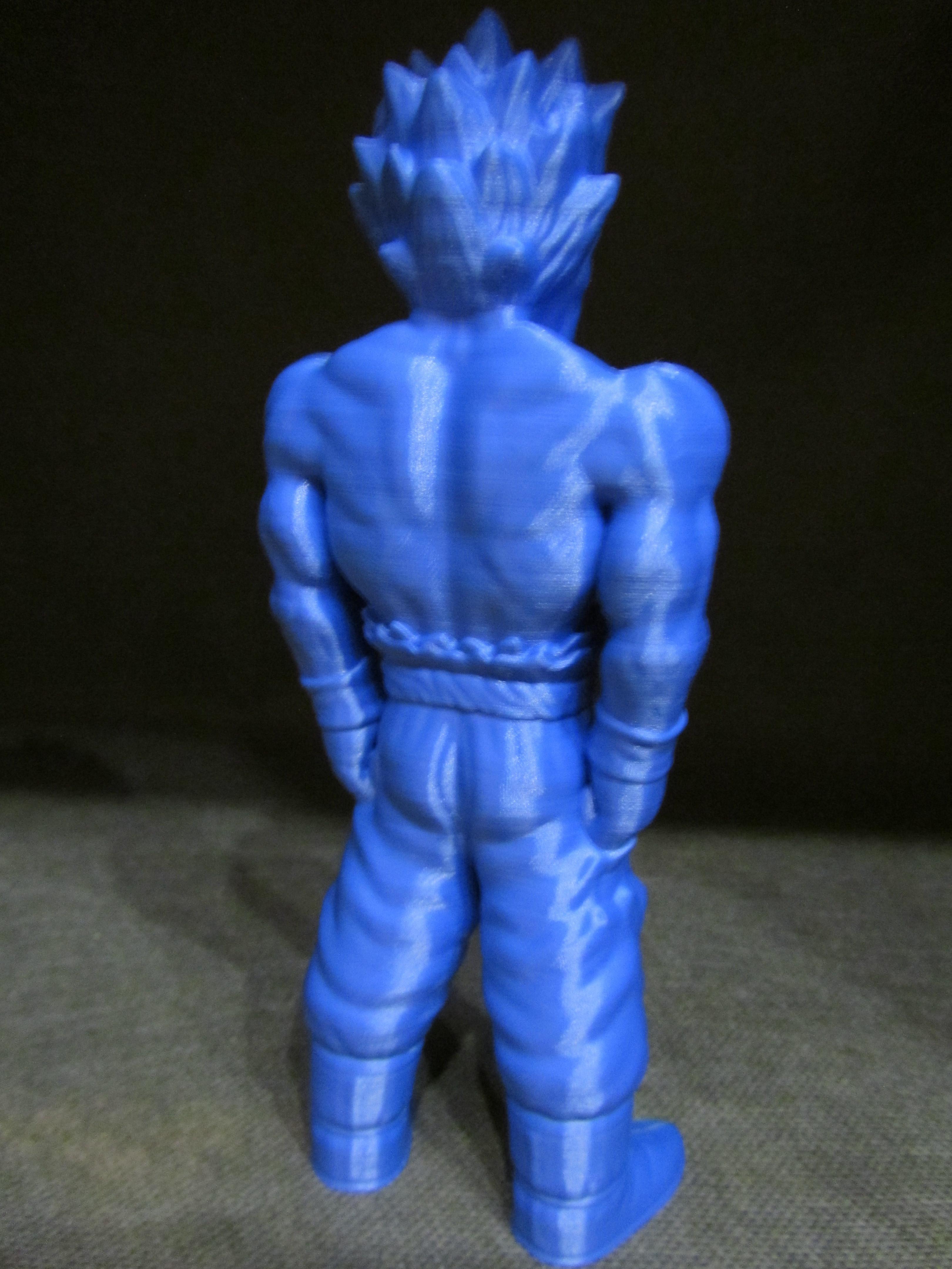 Goku-4.jpg Download free STL file Goku (Easy print no support) • 3D printing template, Alsamen