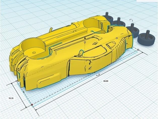 9a2281a868b78ce15ff9ab38463287d1_preview_featured.jpg Télécharger fichier STL gratuit Ford Mustang GT - Modèle 1:64 • Modèle à imprimer en 3D, Gophy