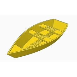 Free 3d printer designs Lego Paddle Boat, Gophy