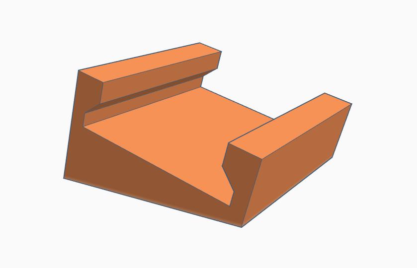 angled_led.PNG Télécharger fichier STL gratuit Bande de leds inclinée à 15°- Redimensionnée • Objet pour imprimante 3D, Gophy
