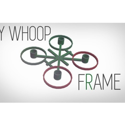 d5907bd86a8cbed81da83f9159a5103d_preview_featured.jpg Download free STL file ULTRA LIGHT tinywhoop frame • 3D printer object, Gophy